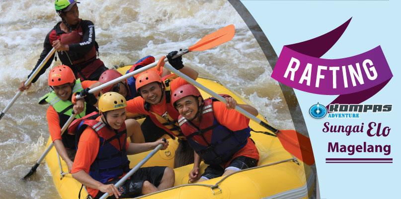 Rafting Sungai Elo Magelang Harga Murah – Arung Jeram Untuk Pemula