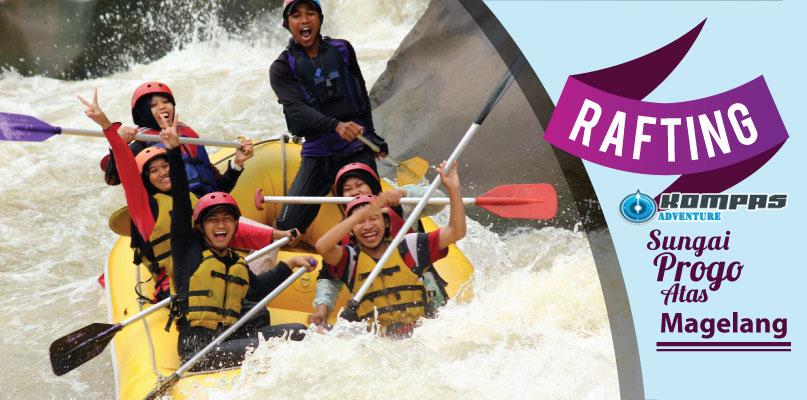 Arung Jeram Sungai Progo Atas Magelang – Progo Rafting Grade 3+ Murah