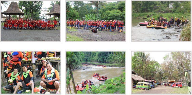 rencana perjalan rafting di sungai elo
