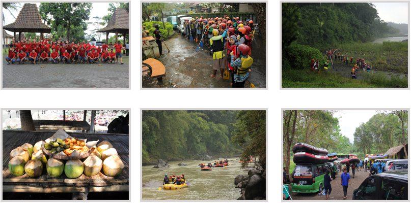 rencana perjalan rafting di sungai progo atas magelang
